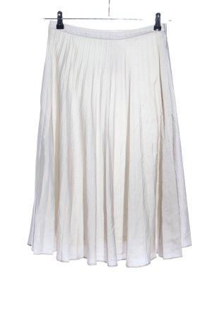 Amisu Faltenrock weiß Elegant
