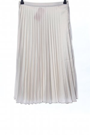 Amisu Plaid Skirt light grey casual look