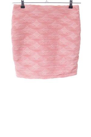 Amisu Plaid Skirt pink allover print casual look