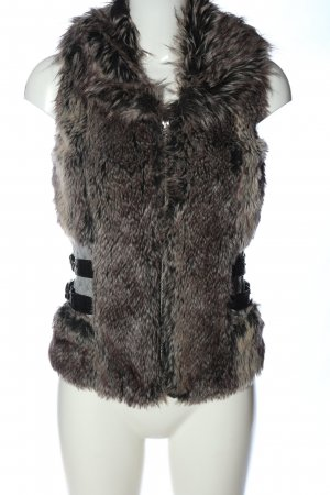 Amisu Fake Fur Vest multicolored casual look