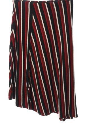 Amisu Flared Skirt striped pattern casual look
