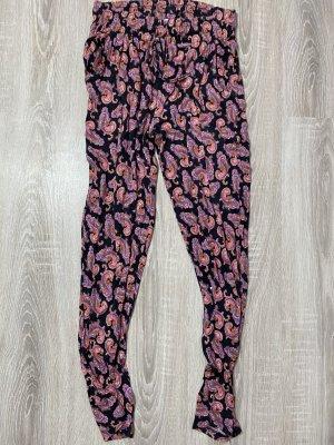 Amisu Harem Pants carmine-light grey mixture fibre