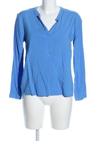 Amisu Hemd-Bluse blau Casual-Look