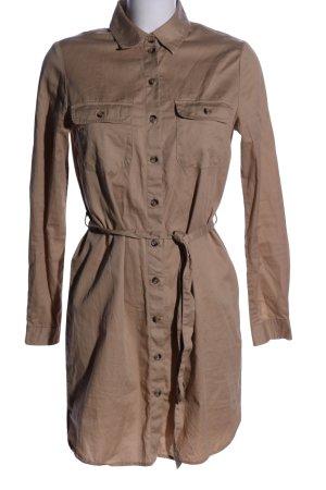 Amisu Shirtwaist dress brown casual look