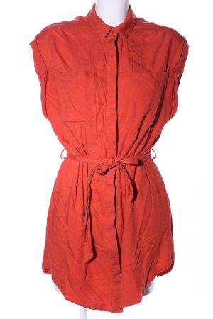 Amisu Shirtwaist dress red casual look