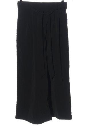 Amisu High Waist Trousers black casual look