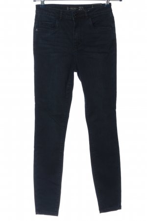 Amisu High Waist Jeans blau Casual-Look