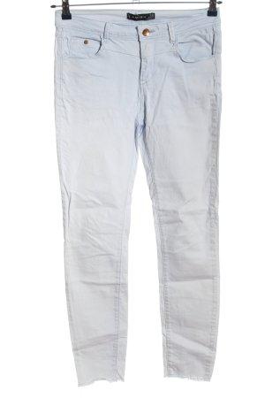 Amisu High Waist Jeans hellgrau Farbverlauf Casual-Look