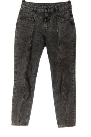 Amisu High Waist Jeans schwarz Casual-Look