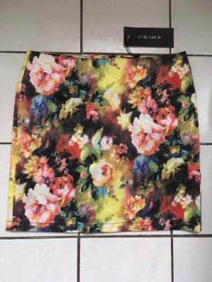 Amisu High Waist Skirt multicolored