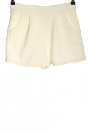 Amisu High-Waist-Shorts wollweiß Casual-Look
