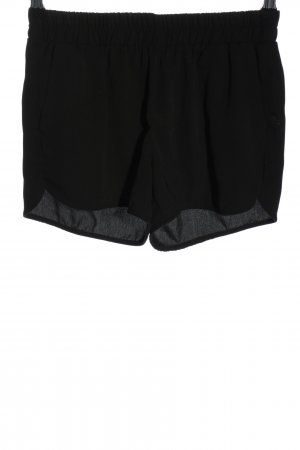 Amisu High-Waist-Shorts schwarz Casual-Look