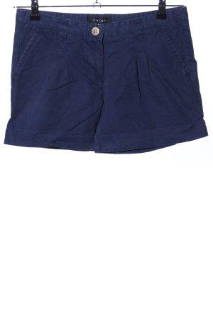Amisu High-Waist-Shorts blau Casual-Look