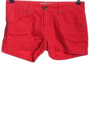 Amisu High-Waist-Shorts rot Casual-Look
