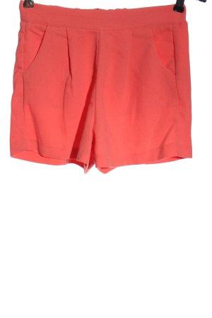 Amisu Hot pants rood casual uitstraling