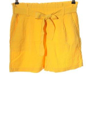 Amisu Hot Pants blassgelb Casual-Look