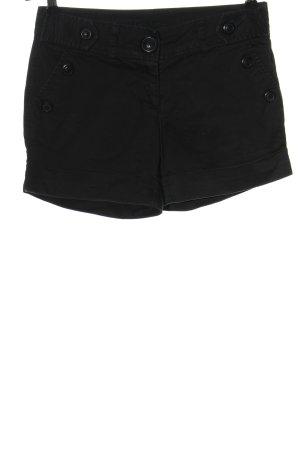 Amisu Hot Pants schwarz Casual-Look