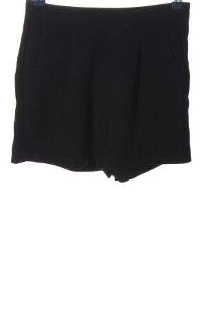 Amisu Hot pants zwart casual uitstraling