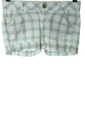 Amisu Hot Pants Allover-Druck Casual-Look