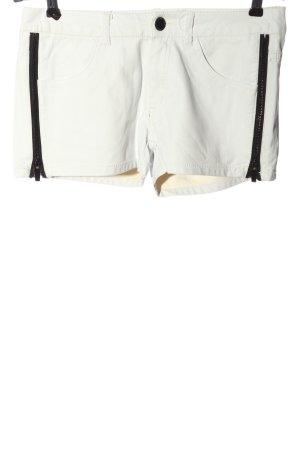 Amisu Hot Pants weiß Casual-Look