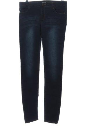Amisu Jeans taille basse bleu style décontracté