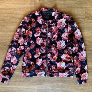AMISU Jacke mit Blumenmuster Grösse M
