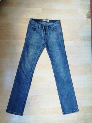Amisu Boyfriend Trousers blue-dark blue
