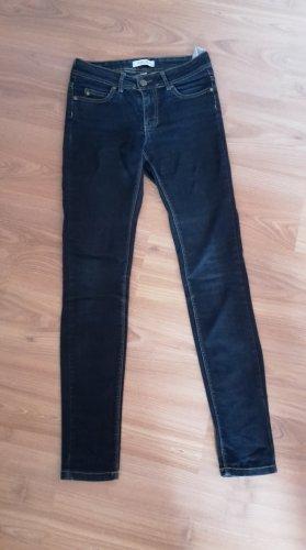 AMISU Jeans in Größe 27 Röhre dunkelblau