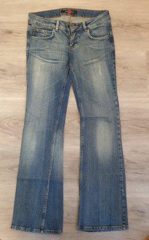 Amisu Low-Rise Trousers blue