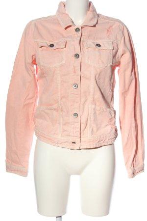 Amisu Blazer vaquero rosa look casual