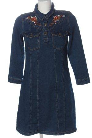 Amisu Jeansowa sukienka niebieski W stylu casual