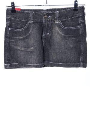 Amisu Jeansrock schwarz Street-Fashion-Look