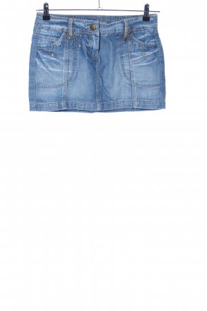 Amisu Denim Skirt blue casual look