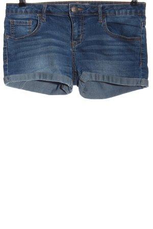 Amisu Jeansshorts blau Casual-Look