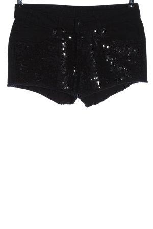 Amisu Jeansshorts schwarz Elegant