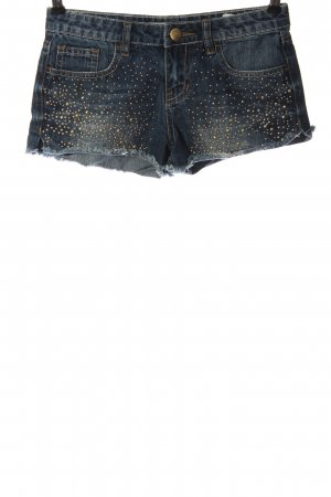 Amisu Jeansshorts blau-goldfarben Casual-Look