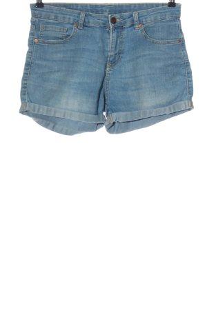 Amisu Denim Shorts blue street-fashion look
