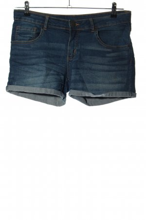 Amisu Denim Shorts blue casual look