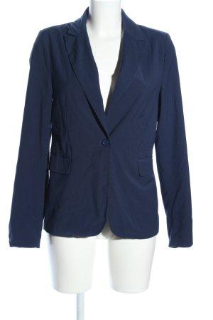 Amisu Jerseyblazer blau Business-Look