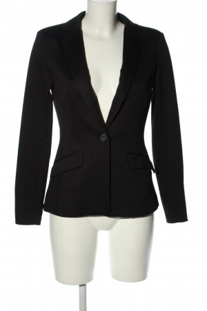 Amisu Jersey Blazer negro estilo «business»