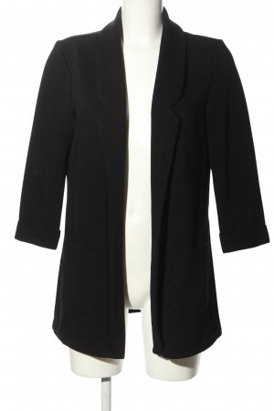 Amisu Jerseyblazer schwarz Business-Look