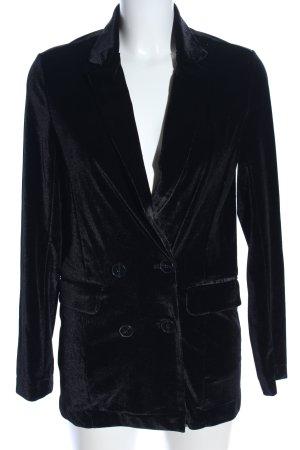 Amisu Jerseyblazer schwarz Casual-Look