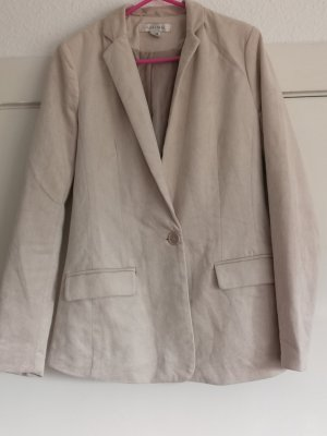 Amisu Jerseyblazer Beige Business- Look