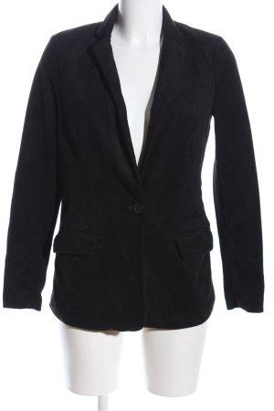 Amisu Jersey blazer zwart zakelijke stijl