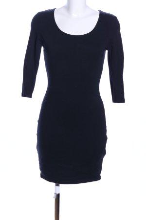 Amisu Jerseykleid schwarz Casual-Look