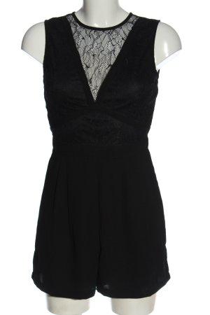 Amisu Jumpsuit schwarz Elegant