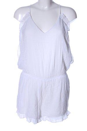 Amisu Jumpsuit weiß Elegant