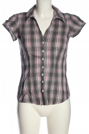 Amisu Checked Blouse check pattern casual look