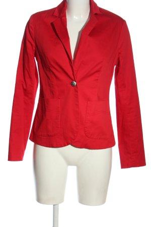 Amisu Klassischer Blazer rot Business-Look