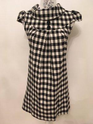 Amisu Shortsleeve Dress white-black